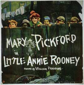 Little Annie Rooney - 11 x 14 Movie Poster - Style A