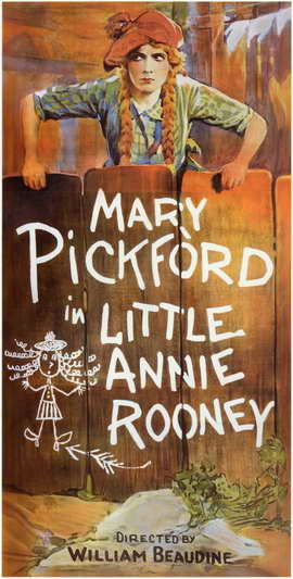 Little Annie Rooney - 11 x 17 Movie Poster - Style B