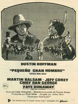 Little Big Man - 11 x 17 Movie Poster - Spanish Style A