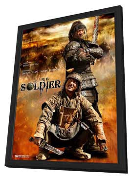 Little Big Soldier - 11 x 17 Movie Poster - Style A - in Deluxe Wood Frame