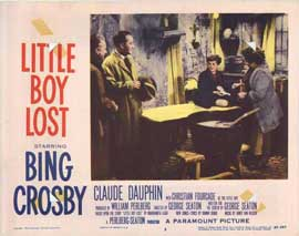 Little Boy Lost - 11 x 14 Movie Poster - Style G
