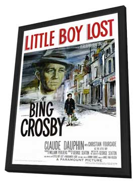 Little Boy Lost - 11 x 17 Movie Poster - Style A - in Deluxe Wood Frame