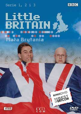 Little Britain - 11 x 17 Movie Poster - Polish Style A