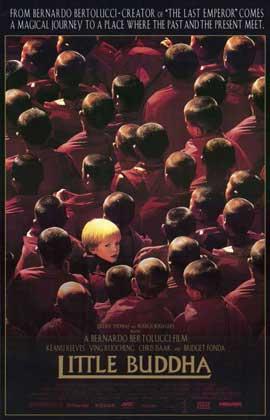 Little Buddha - 11 x 17 Movie Poster - Style B