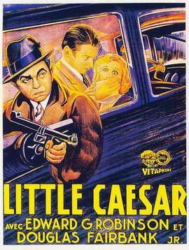 Little Caesar - 11 x 17 Movie Poster - Style D