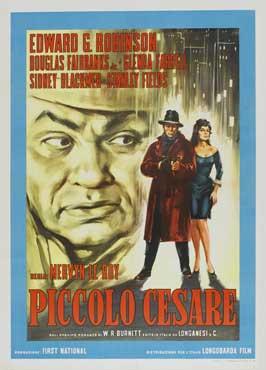 Little Caesar - 11 x 17 Movie Poster - Italian Style A