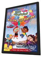 Little Einsteins - 11 x 17 Movie Poster - UK Style A - in Deluxe Wood Frame