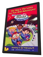 Little Einsteins: Race For Space - 27 x 40 Movie Poster - Style A - in Deluxe Wood Frame