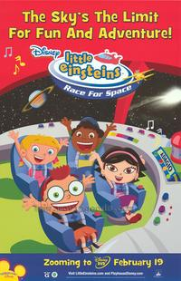 Little Einsteins: Race For Space - 43 x 62 Movie Poster - Bus Shelter Style A