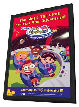 Little Einsteins: Race For Space - 11 x 17 Movie Poster - Style A - in Deluxe Wood Frame