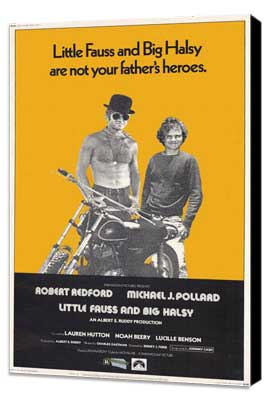Little Fauss and Big Halsy - 11 x 17 Movie Poster - Style A - Museum Wrapped Canvas