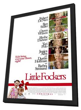 Little Fockers - 11 x 17 Movie Poster - Style A - in Deluxe Wood Frame