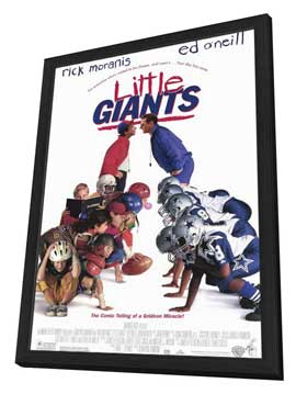 Little Giants - 11 x 17 Movie Poster - Style A - in Deluxe Wood Frame