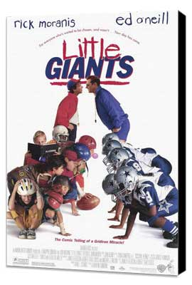 Little Giants - 11 x 17 Movie Poster - Style A - Museum Wrapped Canvas
