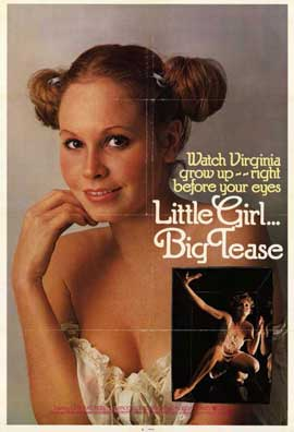Little Girl . . . Big Tease - 11 x 17 Movie Poster - Style A