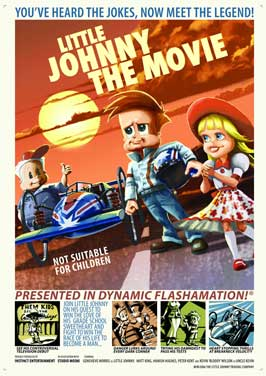 Little Johnny the Movie - 11 x 17 Movie Poster - Style B