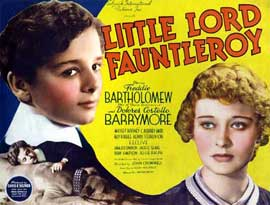 Little Lord Fauntleroy - 27 x 40 Movie Poster - Style A