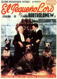 Little Lord Fauntleroy - 11 x 17 Movie Poster - Spanish Style A