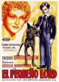 Little Lord Fauntleroy - 11 x 17 Movie Poster - Spanish Style B