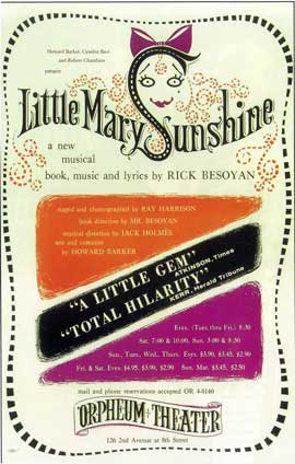 Little Mary Sunshine (Broadway) - 14 x 22 Poster - Style A