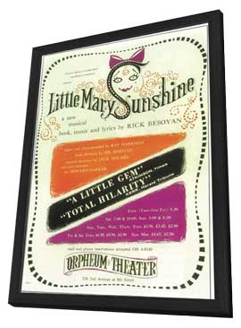Little Mary Sunshine (Broadway) - 11 x 17 Poster - Style A - in Deluxe Wood Frame