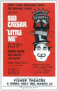 Little Me (Broadway) - 11 x 17 Poster - Style A