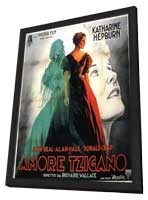 Little Minister - 11 x 17 Movie Poster - Italian Style A - in Deluxe Wood Frame