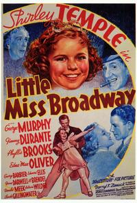 Little Miss Broadway - 27 x 40 Movie Poster - Style A