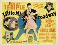 Little Miss Broadway - 22 x 28 Movie Poster - Half Sheet Style A