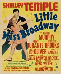 Little Miss Broadway - 11 x 17 Movie Poster - Style B