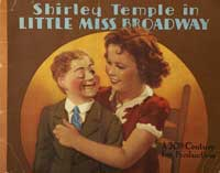 Little Miss Broadway - 22 x 28 Movie Poster - Half Sheet Style B