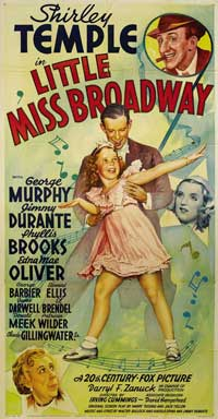 Little Miss Broadway - 20 x 40 Movie Poster - Style A