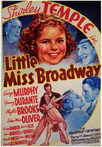 Little Miss Broadway - 11 x 17 Movie Poster - Style A - Museum Wrapped Canvas