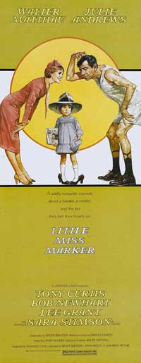 Little Miss Marker - 14 x 36 Movie Poster - Insert Style A