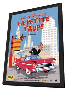 Little Mole - 27 x 40 Movie Poster - French Style A - in Deluxe Wood Frame