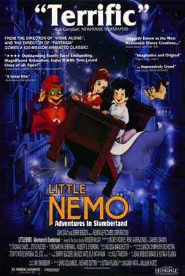 Little Nemo: Adventures in Slumberland - 11 x 17 Movie Poster - Style A