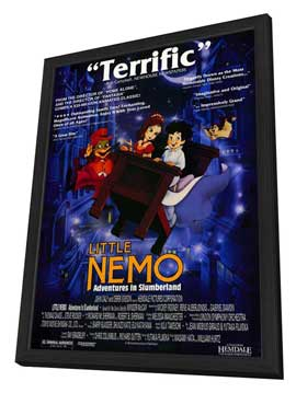 Little Nemo: Adventures in Slumberland - 27 x 40 Movie Poster - Style A - in Deluxe Wood Frame