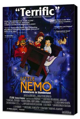 Little Nemo: Adventures in Slumberland - 27 x 40 Movie Poster - Style A - Museum Wrapped Canvas