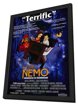 Little Nemo: Adventures in Slumberland - 11 x 17 Movie Poster - Style A - in Deluxe Wood Frame