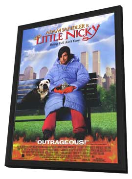 Little Nicky - 11 x 17 Movie Poster - Style A - in Deluxe Wood Frame