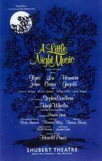 Little Night Music, A (Broadway) - 11 x 17 Movie Poster - Style A