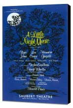 Little Night Music, A (Broadway) - 11 x 17 Movie Poster - Style A - Museum Wrapped Canvas