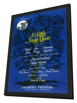 Little Night Music, A (Broadway) - 11 x 17 Movie Poster - Style A - in Deluxe Wood Frame