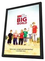 Little People, Big World - 11 x 17 TV Poster - Style B - in Deluxe Wood Frame