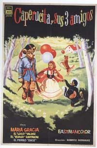 Little Red Riding Hood and Her Friends - 11 x 17 Movie Poster - Spanish Style A