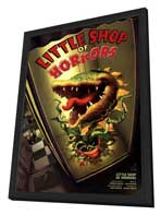 Little Shop Of Horrors (Broadway) - 27 x 40 Poster - Style A - in Deluxe Wood Frame