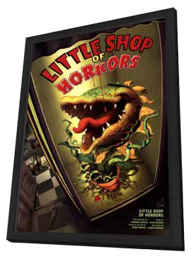 Little Shop Of Horrors (Broadway) - 11 x 17 Poster - Style A - in Deluxe Wood Frame