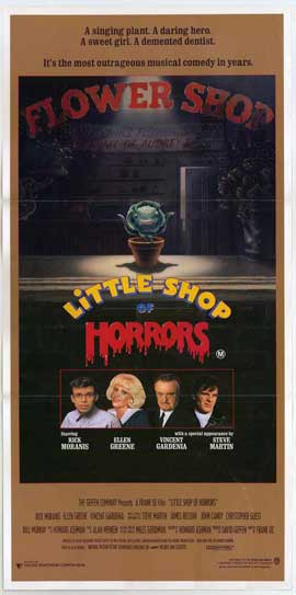 Little Shop of Horrors - 11 x 17 Movie Poster - Australian Style A