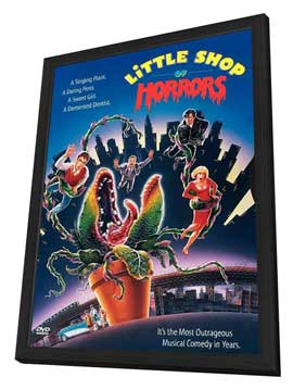 Little Shop of Horrors - 11 x 17 Movie Poster - Style C - in Deluxe Wood Frame
