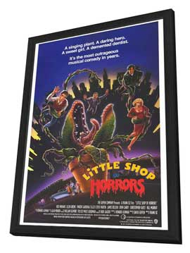 Little Shop of Horrors - 27 x 40 Movie Poster - Style B - in Deluxe Wood Frame